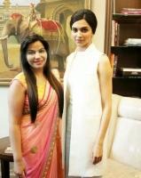 Dr.CHARU SHARMA With Deepika Padukone