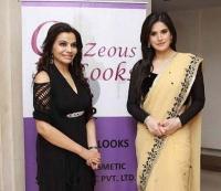 Dr.CHARU SHARMA With Zarine Khan