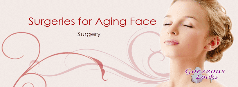 surgeries for aging face surgery