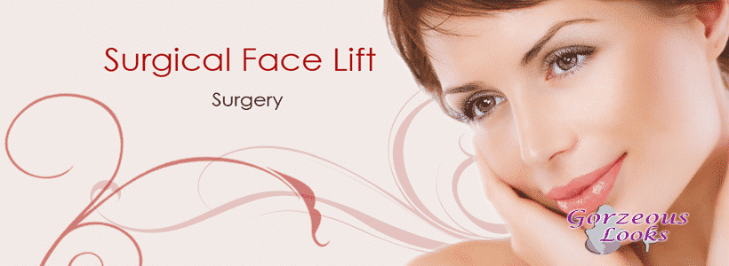 surgical face lift surgery