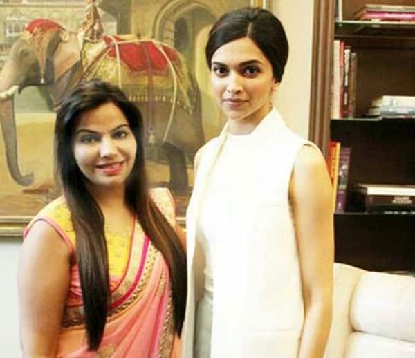Dr. Charu Sharma with deepika padukone