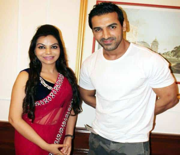 Dr. Charu Sharma with john abraham