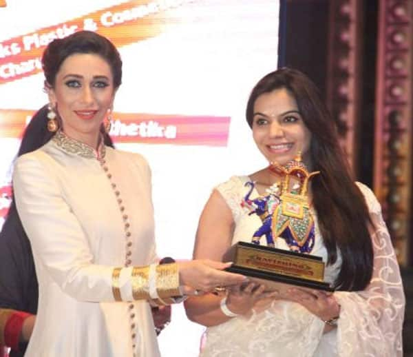 Dr. Charu Sharma with karisma kapoor
