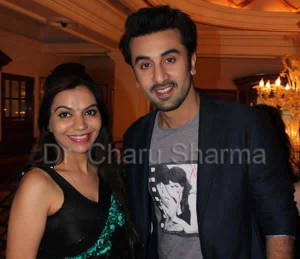 Dr. Charu Sharma with ranbir kapoor